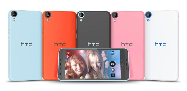HTC introducerar Desire 820 med åttakärnig 64-bitarsprocessor