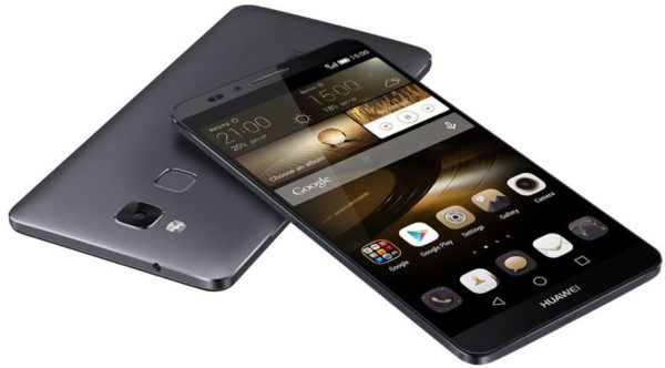 Huawei introducerar bjässen Ascend Mate 7