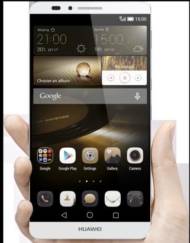 Huawei Ascend Mate 7 kommer till Sverige i höst