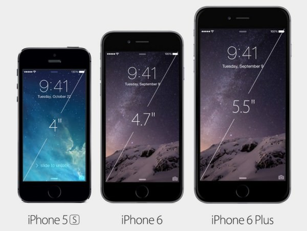 Apple presenterar Iphone 6 och Iphone 6 Plus