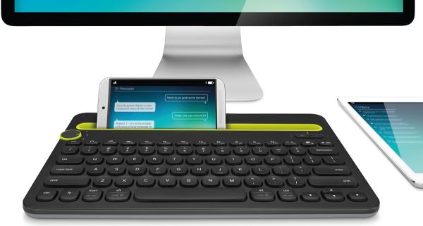 Logitechs senaste tangentbord fungerar med datorer, smartphones och plattor