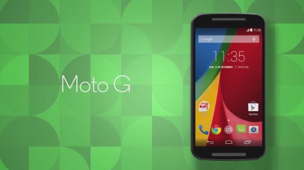 Här är Motorolas nya Moto G