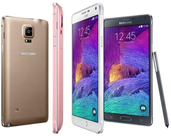Galaxy Note 4 har landat – allt om Samsungs nya toppmodell