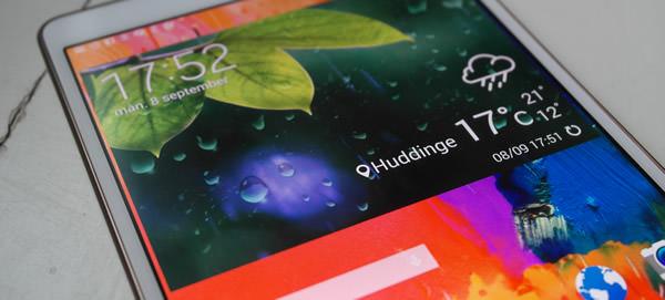 Vi testar Samsung Galaxy Tab S 8.4