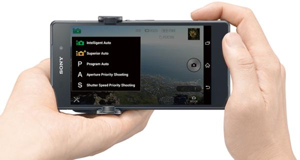 Pressbilder på Xperia Z3 och Sonys nya kameratillbehör