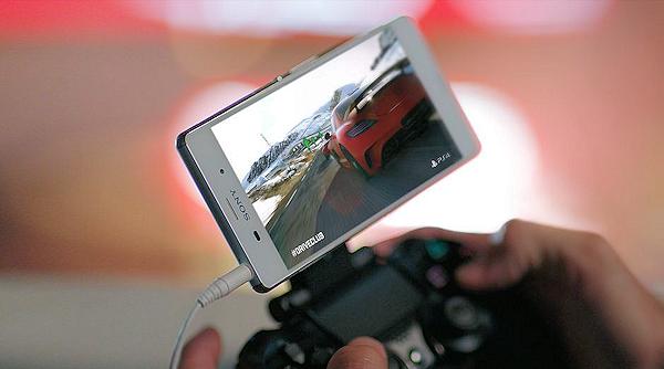 Sony visar upp PlayStation 4-spel på Xperia Z3