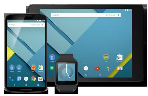 Google släpper ny förhandsversion av Android 5.0