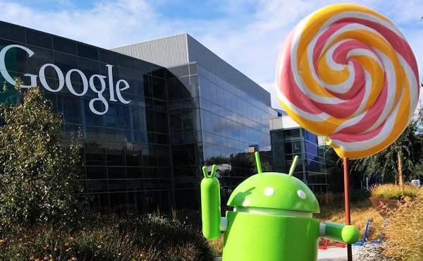 Google reser statyn för Android 5.0 Lollipop