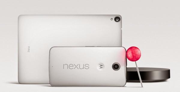 Motorola Nexus 6 och HTC Nexus 9 dyker upp hos NetOnNet