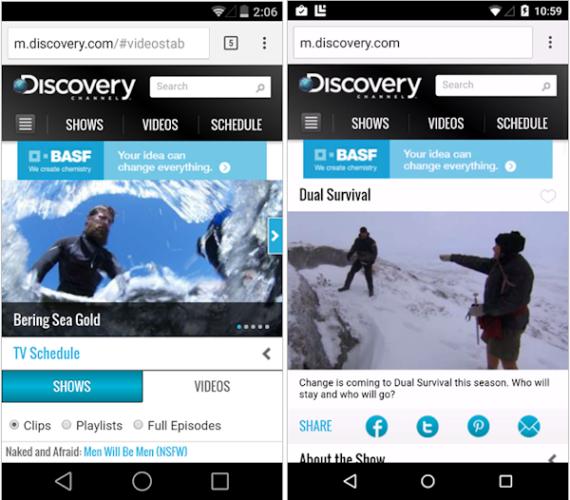 Subtila designnyheter upptäckta i Android L