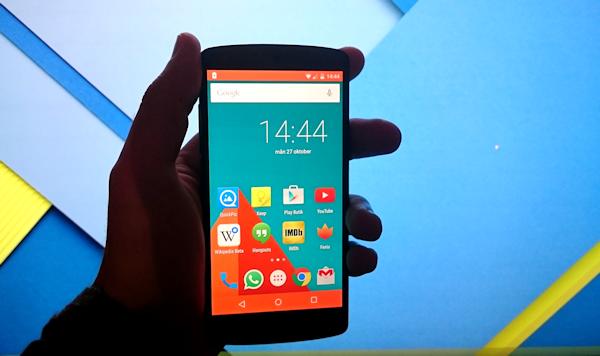 Android 5.0 Lollipop: Energispararläget