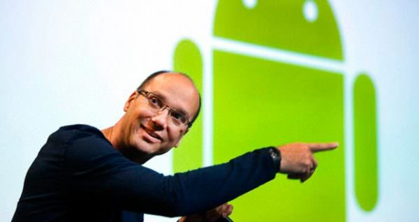 Androidgrundaren Andy Rubin lämnar Google