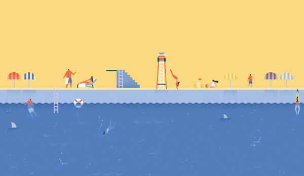 Blandade skärmdumpar från Lollipop och Googles nya appar