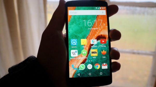 Android 5.0 Lollipop: Hemskärmen