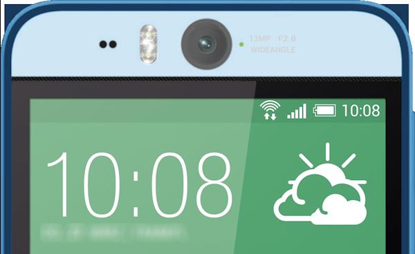 HTC Desire Eye dyker upp igen med främre 13MP-kamera