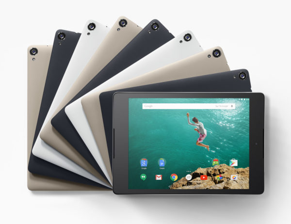 Google Nexus 9: Nexus och HTC återförenas
