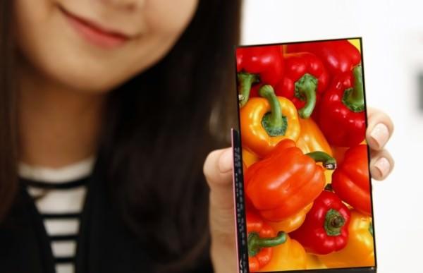 Senaste skärmen från LG Display har världens tunnaste kanter