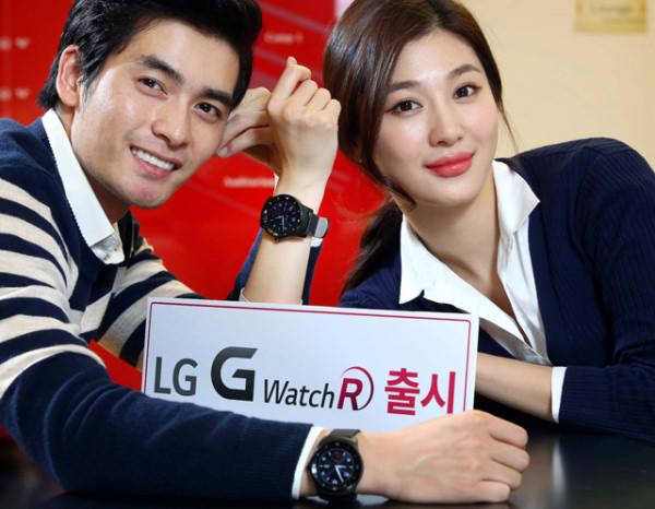 Runda smartklockan LG G Watch R släpps i Sydkorea nästa vecka