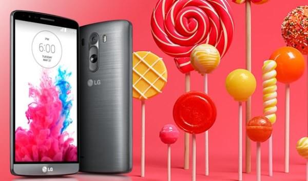 LG Nordic bekräftar att G3 får Android 5.0 i år