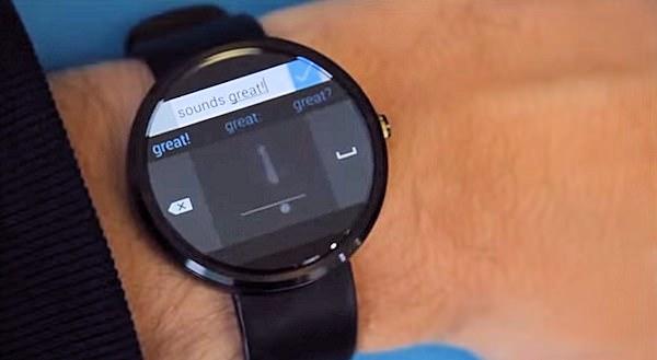 Microsoft släpper handstilstangentbord för Android Wear