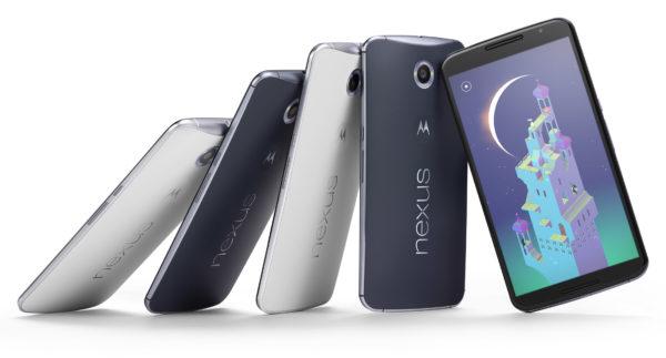 Nexus 6 kan bokas i Play Store 29:e oktober