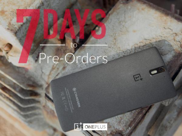 OnePlus One går att förbeställa 27:e  oktober