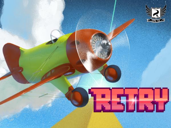 Retry är ett Flappy Bird-liknande spel från Rovio