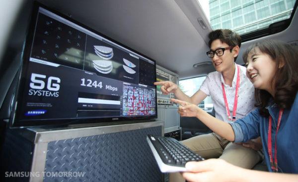 Samsung sätter hastighetsrekord för 5G, når 7,5Gbps
