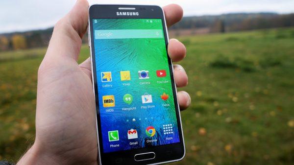 En första titt på Samsung Galaxy Alpha