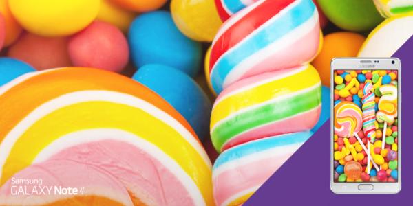 Snabb uppdatering till Lollipop för Note 4?