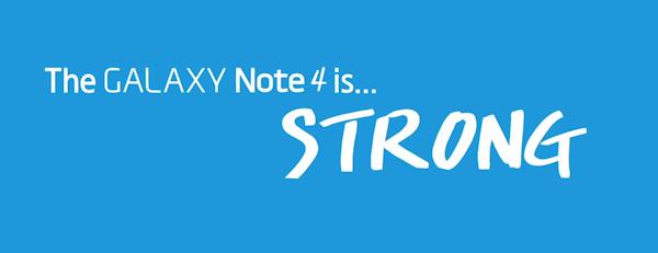 Samsung visar hur de testar tåligheten för Galaxy Note 4