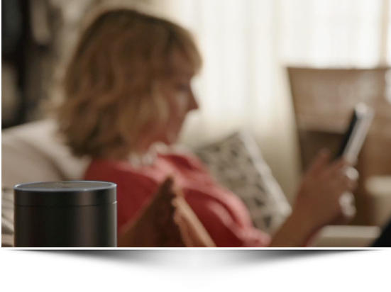 Amazon Echo är en ständigt lyssnade assistent på skrivbordet