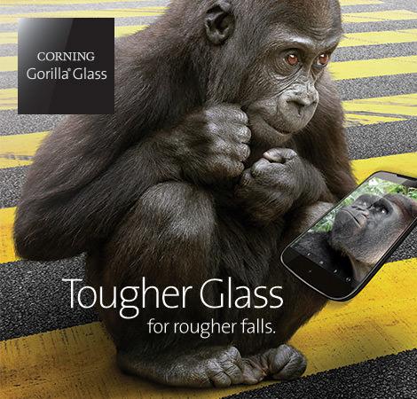 Corning Gorilla Glass 4 ska få smartphoneskärmar att överleva fall