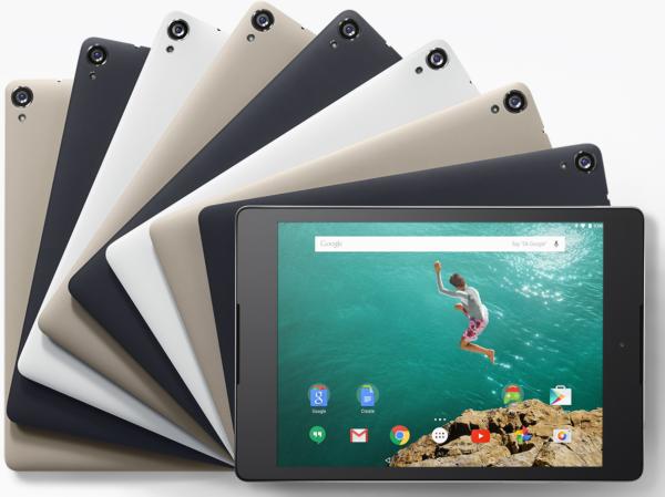 HTC Nexus 9 nu tillgänglig i svenska Google Play