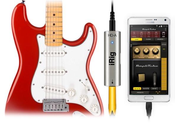 AmpliTube och iRig HD-A släpps till valda Samsung-telefoner