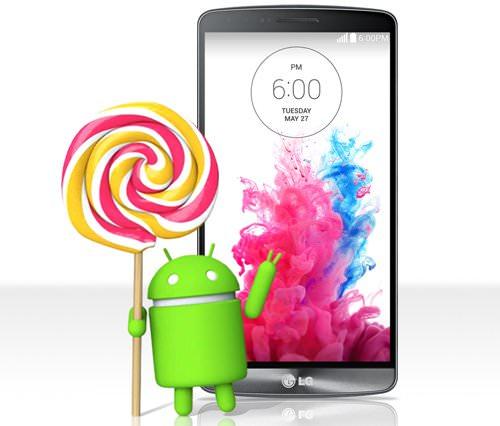 LG börjar uppdatera G3 till Lollipop nästa vecka