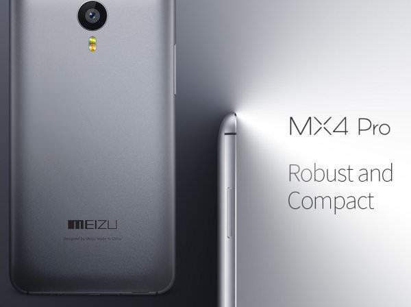 Meizus senaste telefon MX4 Pro har 2560 x 1536 pixlar