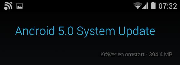 LG Nexus 4 uppdateras till Android 5.0 OTA