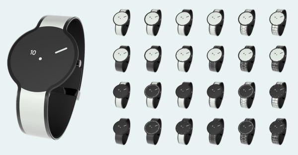 Här är Sonys klocka med elektroniskt papper