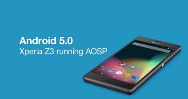 Sony visar framfötterna, kör redan original-Android 5.0 på Xperia Z3