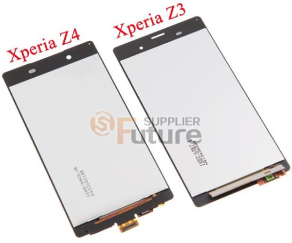Rykte: Bilder som visar digitizern för Xperia Z4