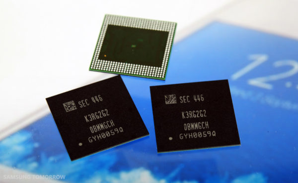 Snart får smartphones 4GB RAM, Samsung inleder massproduktion
