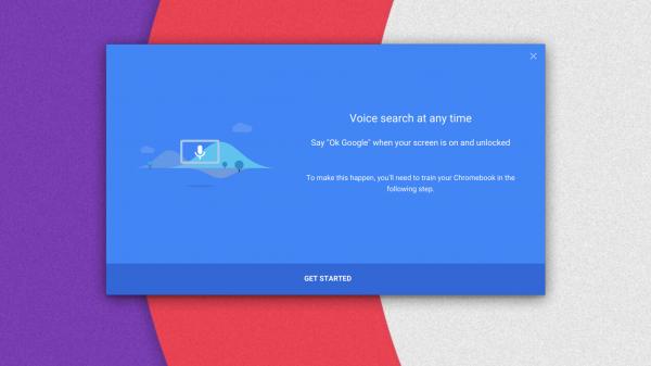 Röstkommandon på väg till Chrome OS