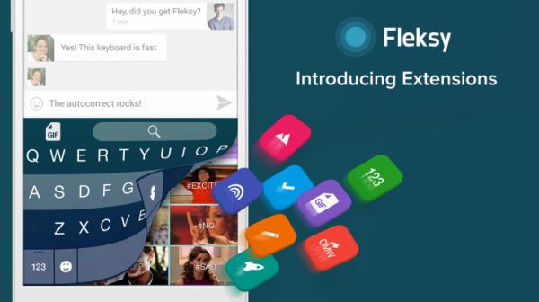 Tangentbordet Fleksy får sin största uppdatering hittills