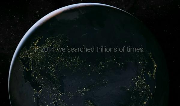 Google summerar sökningarna under året som gått