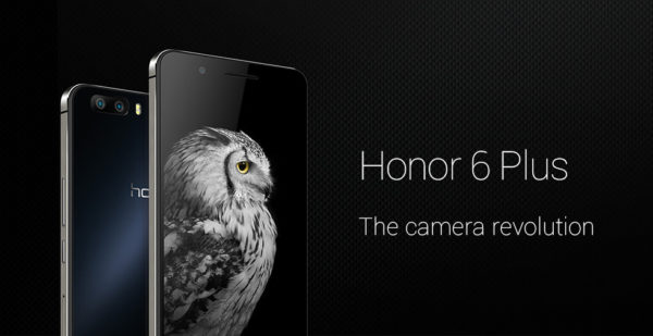 Huawei presenterar Honor 6 Plus