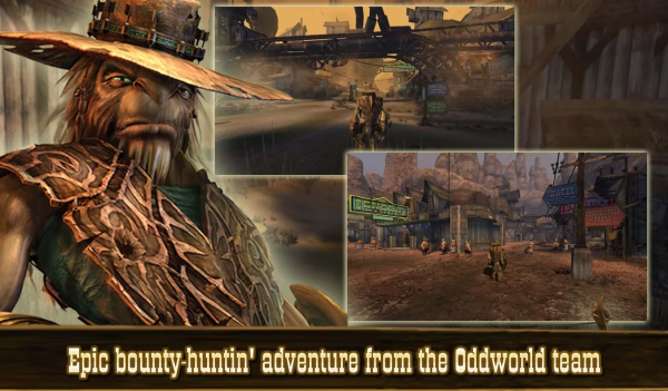 Xbox-spelet Oddworld: Stranger's Wrath nu i Google Play