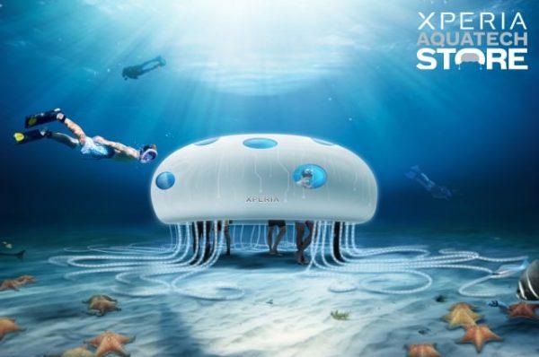 Sony öppnar undervattensbutik i Dubai