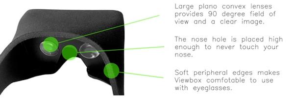 Viewbox ger virtuell verklighet med hjälp av din smartphone