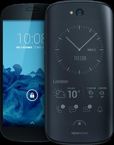 Dubbelskärmade YotaPhone 2 kommer i december